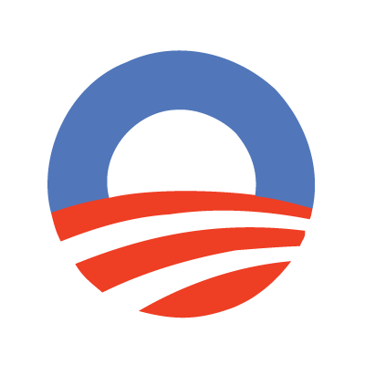 Obama 2012 logo vector