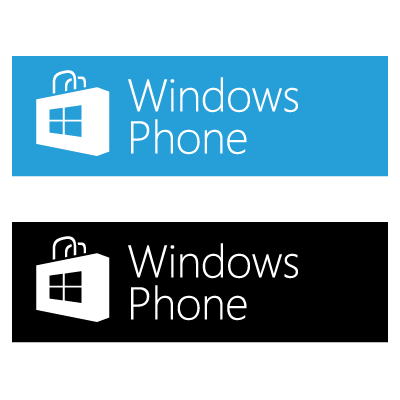 Windows Phone Store vector free