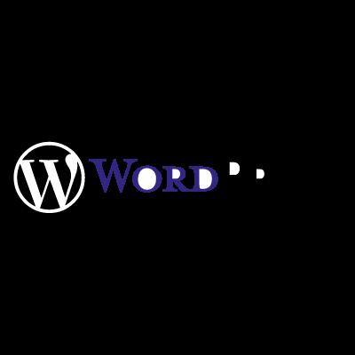 WordPress (.EPS) logo vector