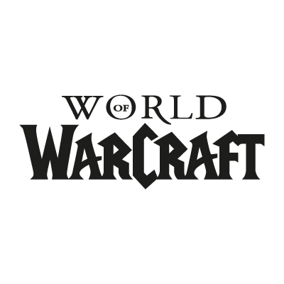 World of Warcraft logo vector