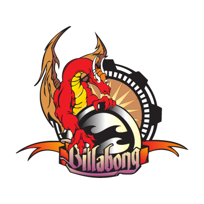 Billabong Dragão logo vector