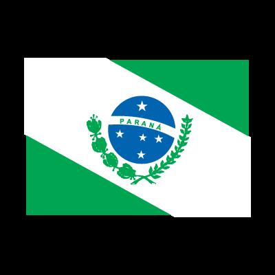 Flag of Bandeira Paraná logo vector