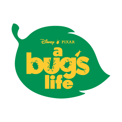 A Bug's Life logo vector