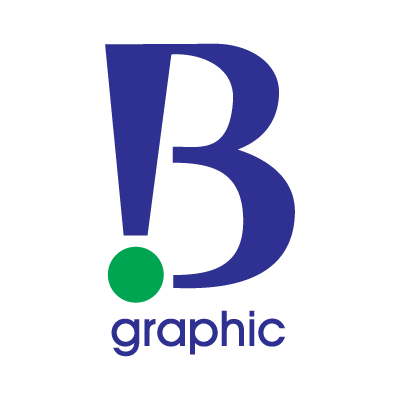 B Graphic logo vector