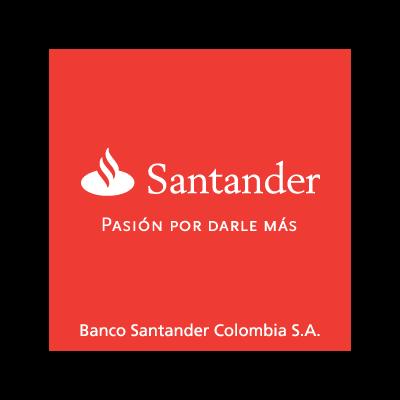 Banco santander colombia logo vector in eps ai cdr - Santander consumer finance home ...