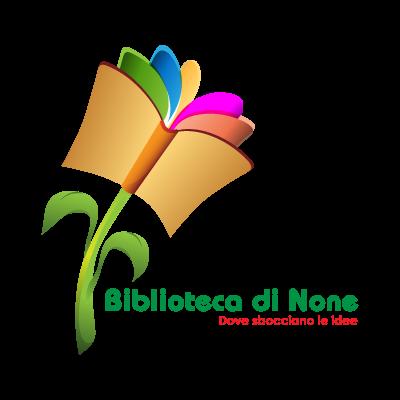 Biblioteca di None logo vector