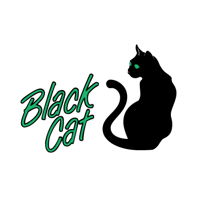 Black Cat Music logo vector