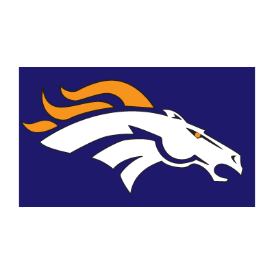 Bronco de denver logo vector