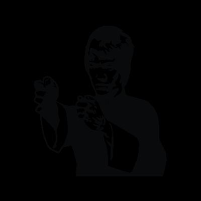 Bruce Lee logo vector