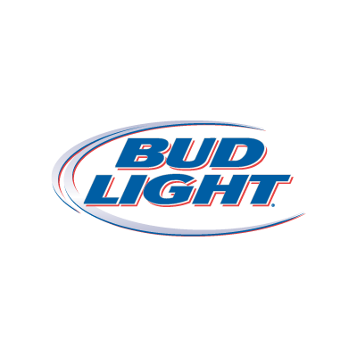 Bud Light logo vector