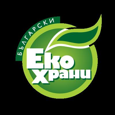Bulgarian Eco Food logo vector free