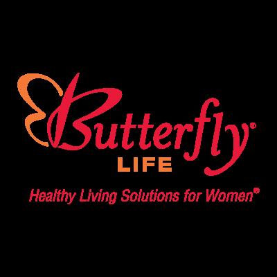 Butterfly Life logo vector