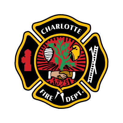 Charlotte Fire Department logo vector