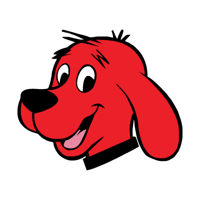 Clifford The Red Dog logo vector
