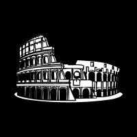 Colosseo roma logo vector