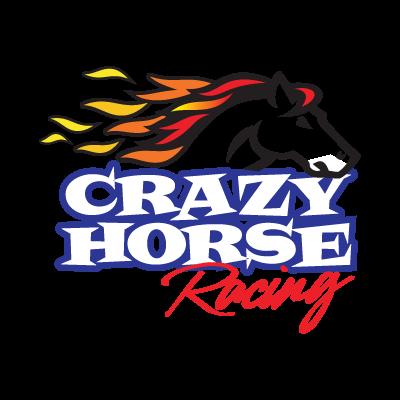 Crazy Horse Racing logo vector