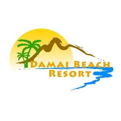 Damai Beach Resort logo vector