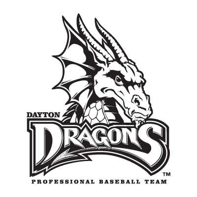 Dayton Dragons logo vector