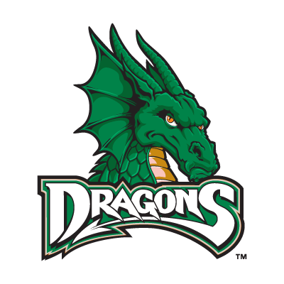 Dayton Dragons Midwest League logo vector free