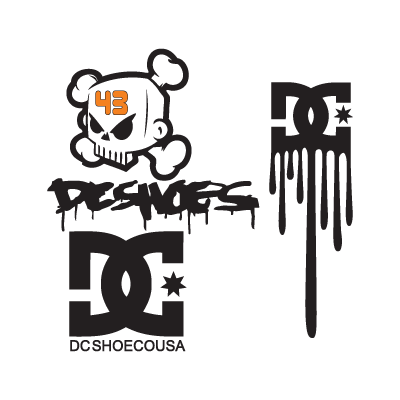 DC Shoes logo vector download free
