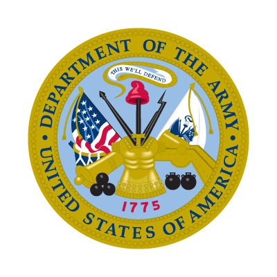 Department of the Army logo vector