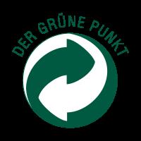 Der Grune Punkt Green Dot logo vector