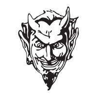 Devil Head logo vector