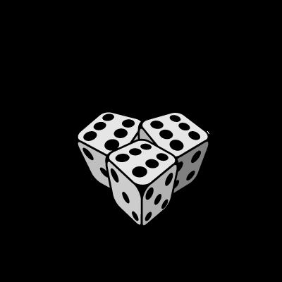 DICE REBELS logo vector