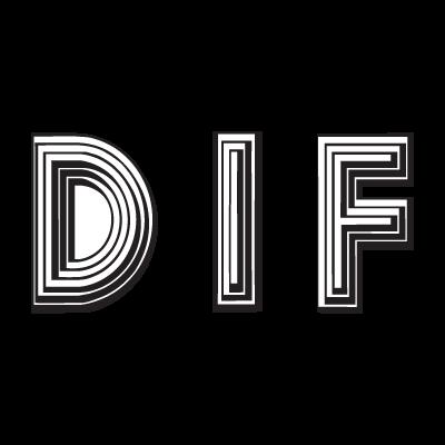 Dif logo vector