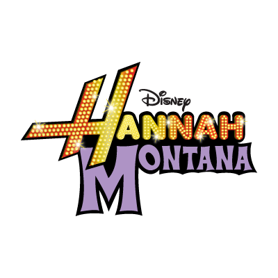 Disney Hannah Montana logo vector