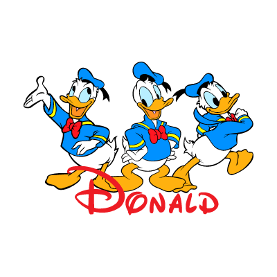 Donald logo vector download free