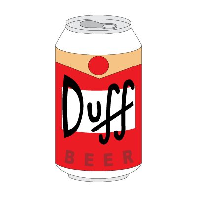Duff Beer (.EPS) logo vector