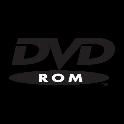 DVD Rom logo vector