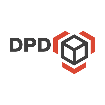 Dynamic Parcel Distribution logo vector