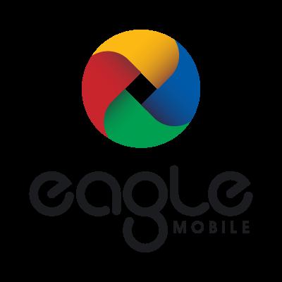 Eagle mobile logo vector