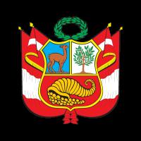 Escudo del Peru logo vector