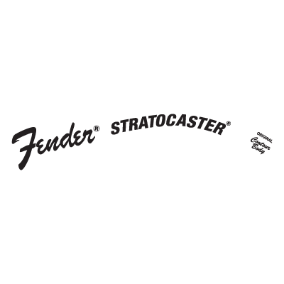 Fender Stratocaster Logo Vector In Eps Ai Cdr Free