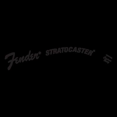 Fender Stratocaster logo vector