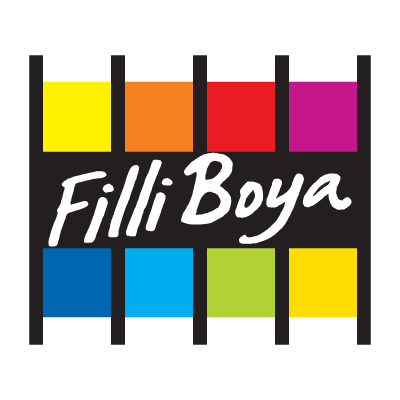 Filli Boya paint logo vector