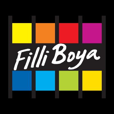 Filli Boya paint logo vector