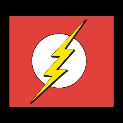 Flash logo superhero logo vector