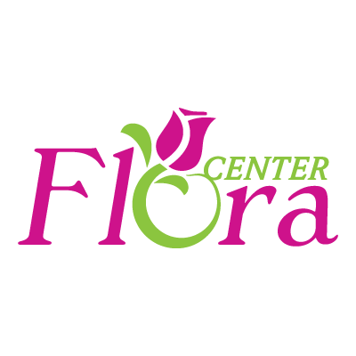 Flora center logo vector