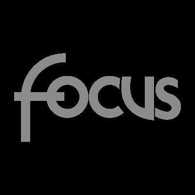 Focus logo vector