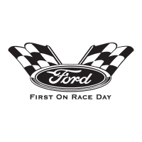 Ford First On Race Day logo vector