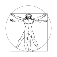 Vitruvian vector