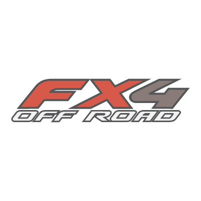 FX4 Off Road logo vector