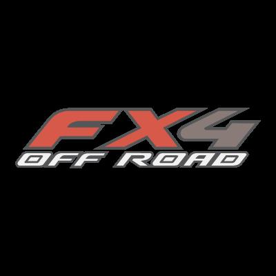 FX4 Off Road logo vector
