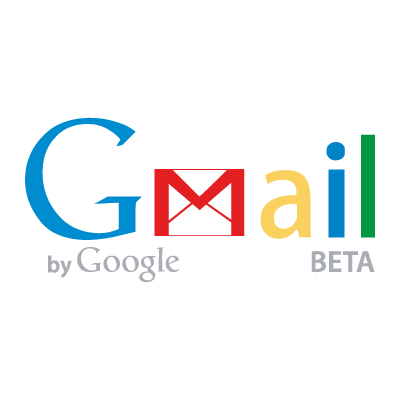 GMail by Google logo vector