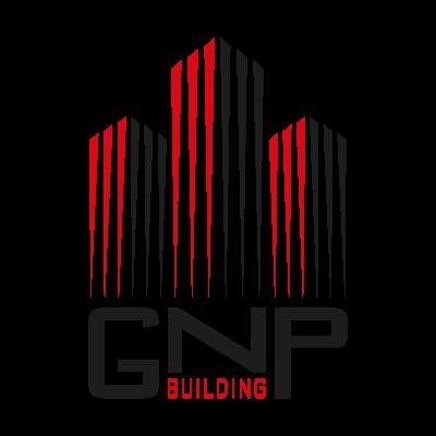 GNP building logo vector