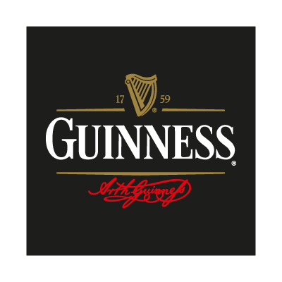 Guinness Beer logo vector